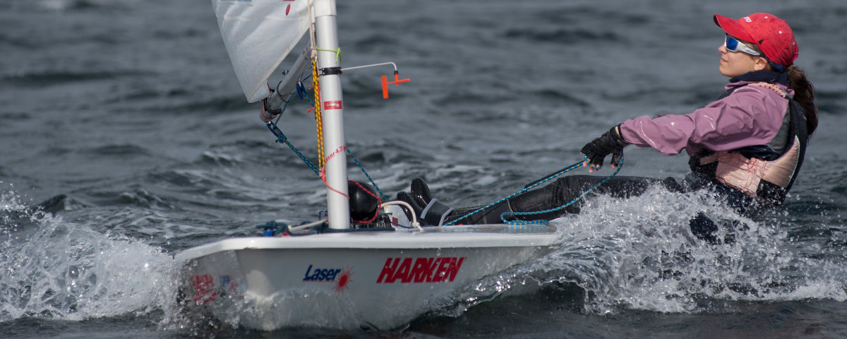Laser at Largs Regatta Week 2012, Photo by Marc Turner