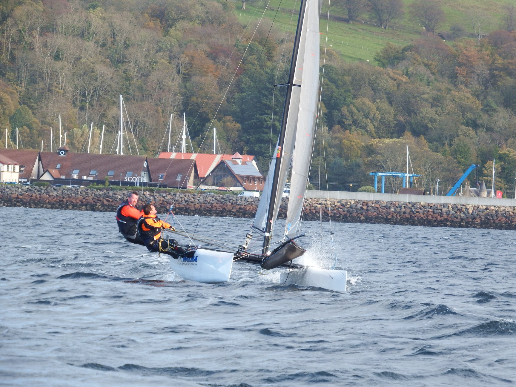 Nacra 18 at Largs SC