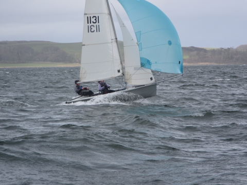 RS200 Downwind