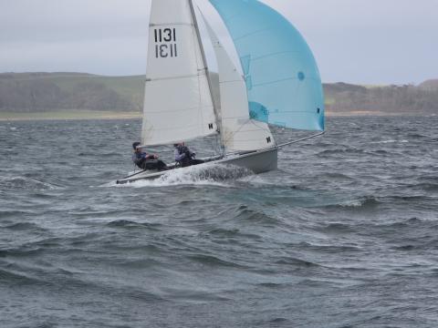 RS200 Downwind